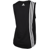 adidas-Must Haves 3-Stripes Tank Top-Black/White-2113124