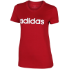 adidas-Essentials Linear T-shirt-Actmar/White-2113147
