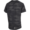 adidas-FreeLift Camo Burnout T-shirt-Black-2132107