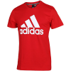 adidas-Must Haves Badge Of Sport T-shirt-Scarle/White-2147158