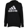 adidas-Badge Of Sport Long Hoodie-Black/White-2147172