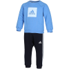 adidas-3-Stripes Fleece Joggingsæt-Lucblu/Skytin-2147187