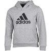 adidas-Must Haves Badge Of Sport Hoodie-Mgreyh/Black-2147194