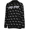 adidas-Favorites Hoodie-Black/White-2147201