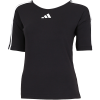 adidas-Open Back 3-Stripes T-shirt-Black-2160834