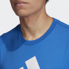 adidas-Must Haves Badge Of Sport T-shirt-Blue/White-2160841