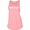 adidas-Essentials Linear Tank Top-Glopnk/White-2160854