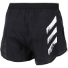 adidas-Speed Split Shorts-Black/White-2161450
