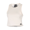 adidas-Must Haves Recycled Cotton Crop Tank Top-Nondye-2161458