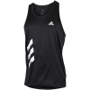 adidas-Own The Run 3-Stripes PB Singlet-Black-2161542