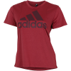 adidas-Badge of Sport Logo T-shirt-Legred/Maroon-2174342