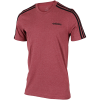 adidas-Essentials 3-Stripes T-shirt-Legred/Black-2174362