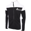 adidas-Z.N.E. Full-Zip Hoodie-Black/White-2174419