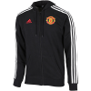 adidas-Manchester United 3-Stripes Hoodie-Black-2179175