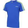 adidas-Essentials 3-Stripe T-shirt-Royblu/Siggnr-2179339