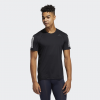 adidas-Techfit 3-Stripes Fitted T-shirt-Black-2195088