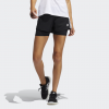 adidas-Pacer 3-Stripes Woven Two-in-One Shorts-Black/White-2195121