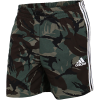 adidas-Essentials French Terry Camouflage Shorts-Leggrn-2195145
