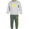 adidas-Badge of Sport French Terry Joggingsæt-Mgreyh/Yellow-2205277