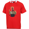 adidas-Salah Football Inspired T-shirt-Vivred/Goldmt-2205285