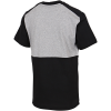 adidas-Essentials Colourblock T-shirt-Mgreyh/Black/White-2205301