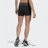 adidas-Fast Primeblue Graphic Booty Shorts-Black/Grefou-2205372