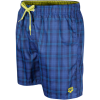 Arena-Yarn Dyed Check Boxer Shorts - Herre-Navy,soft_Green-1415611