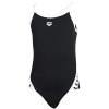 Arena-Team Stripe Super Fly Back Badedragt-Black-white-2042527
