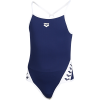 Arena-Team Stripe Super Fly Back Badedragter-Navy-white-2042528