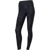 Casall-Iconic Printed 7/8 Tights-Survive Dk Blue Meta-2204643
