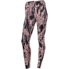 Casall-Iconic Printed 7/8 Tights-Survive Pink-2204646