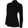Helly Hansen-Lifa Merino 1/2 Zip-990 Black-1540695