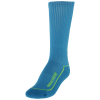 Hummel-Advanced Long Indoor Sock-Atomic Blue/Green Ge-1192537