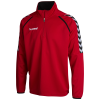 hummel-Stay Authentic Poly Sweatshirt-True Red-1286670