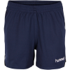 Hummel-Stay Authentic Poly Shorts - Dame-Marine-1359333