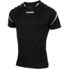 Hummel-Authentic Charge Poly T-shirt-Black-1489881