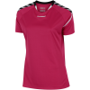 Hummel-Authentic Charge Poly T-shirt-Bright Rose-1489901