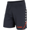 Hummel-Authentic Charge Poly Shorts-Ombre Blue/Nasturtiu-1490057