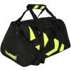 Hummel-Logo Sportstaske XS-Black/Safety Yellow-1551716
