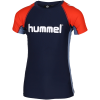 Hummel-Zab Swim T-shirt-Black Iris-2072392