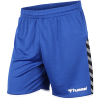 Hummel-Authentic Poly Shorts-True Blue-2106277