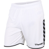 Hummel-Authentic Poly Shorts-White-2106451