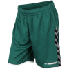 Hummel-Authentic Poly Shorts-Evergreen-2106479