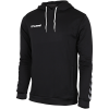 Hummel-Authentic Poly Hoodie-Black/White-2143367
