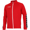 Hummel-Authentic Poly Zip Jacket-True Red-2143440
