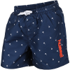 Hummel-Chill Board Shorts-Black Iris/Bright Wh-2147524