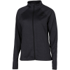 Hummel-Authentic Zip Jacket-Black Melange-2156975