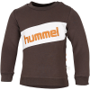 Hummel-Clement Sweatshirt-Black Olive-2173056