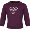 Hummel-Lime Sweatshirt-Blackberry Wine-2173092