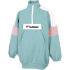 Hummel-Valerie Long Sweatshirt-Oil Blue-2173130